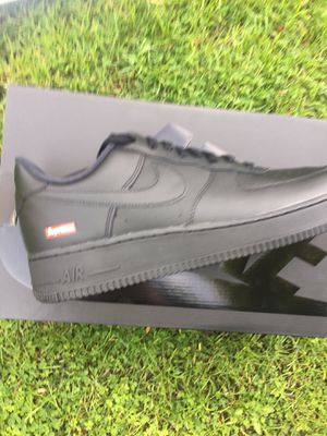 Photo Supreme X Nike air force Black size 12