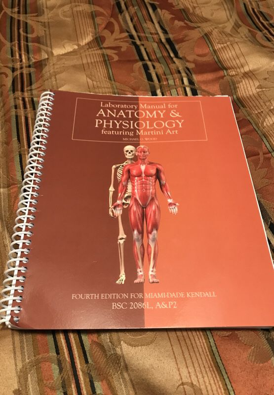 Anatomy & Physiology manual for Sale in Miami, FL - OfferUp