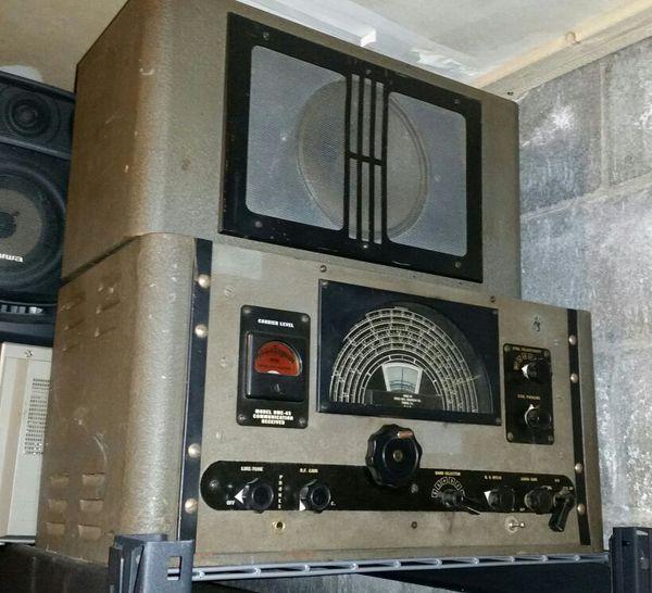 Vintage Ham Radio RME-45 Receiver w/ Speaker (1945) for Sale in Easley, SC  - OfferUp