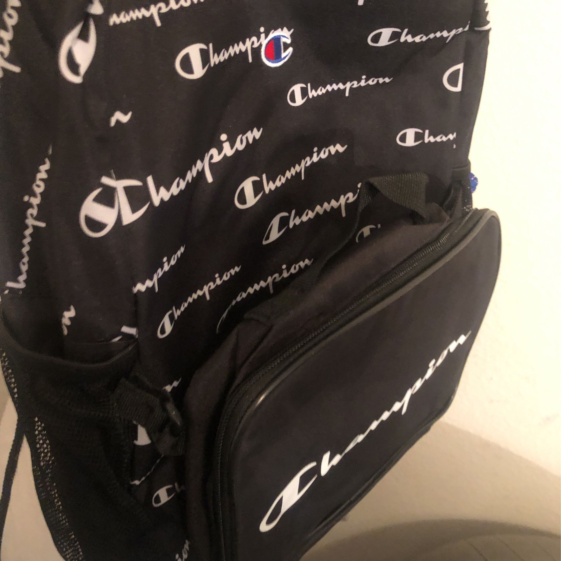 New Champion Backpack With Detachable Front