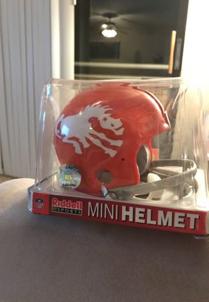 Denver broncos mini helmet for Sale in Denver, CO