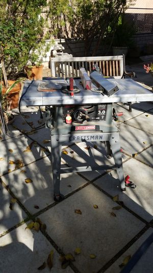 Craftsmen 10-in Table Saw for Sale in Apple Valley, CA