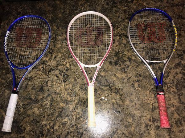 Wilson Tennis rackets for Sale in Newport News, VA - OfferUp