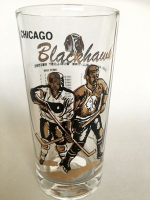 Collectible Chicago Blackhawks Glass 1967 for Sale in Chicago, IL