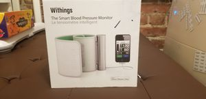 Withings Smart Blood Pressure Monitor for Ipod iPhone Ipad for Sale in Seattle, WA