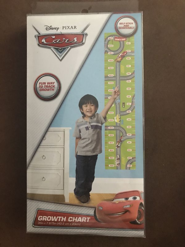 Disney Cars Growth Chart For Sale In Concord Ca Offerup