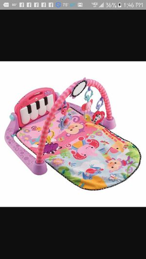 Fisher Price Kick & Play (PINK) for Sale in Craigsville, VA
