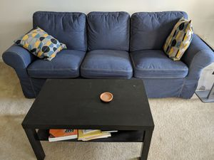 Ikea EKTORP Couch and coffee table for Sale in Alexandria, VA