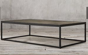Restoration Hardware Coffee Table (55 in) for Sale in Washington, DC