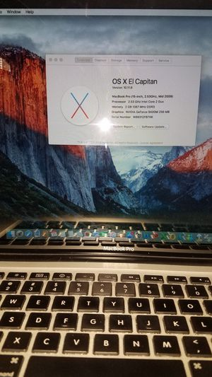 Mac Book Pro for Sale in undefined