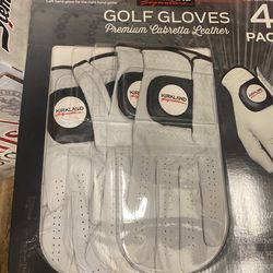 Golf Gloves - 4 Pack (small, Medium And Medium/Large Sizes) Thumbnail