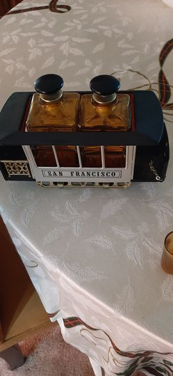 Vintage San Francisco Trolley Decanter Thumbnail