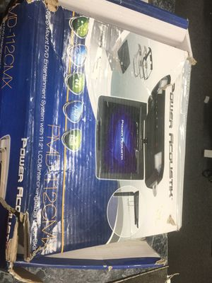 Power acoustik DVD system for Sale in Silver Spring, MD