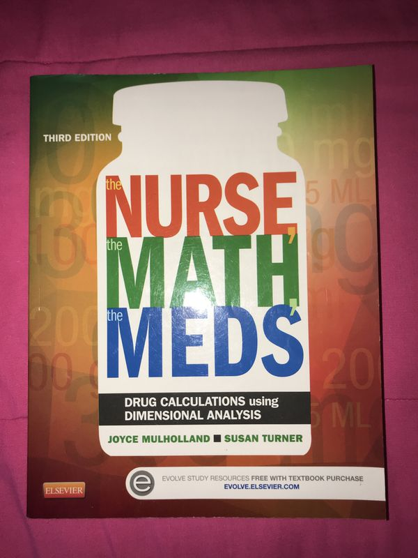 math and meds for the nurse