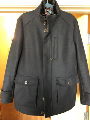 6163ada446d03 Ted Baker Bartley wool faux fur jacket size 4 (large) for Sale in Portland