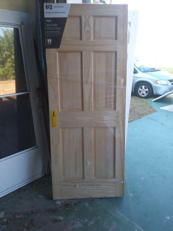 Brand new Pine slab interior door for Sale in Hutchinson Island, FL -  OfferUp