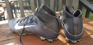 Nike Untouchable Vapor VPR 2 Football Black/Grey Cleats Men's Sz 12.5 for Sale in Fort Washington, MD