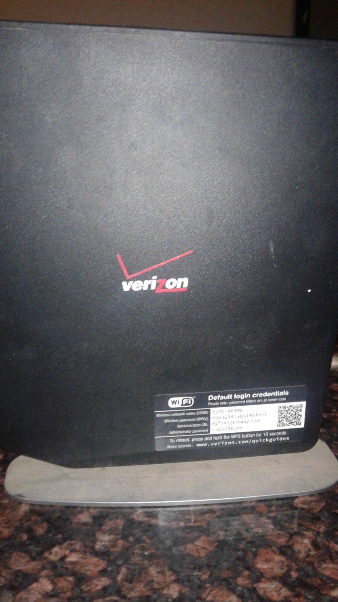 Verizon fios router
