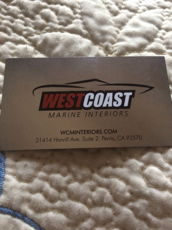 WestCoast Marine Interiors Services for Sale in Perris, CA - OfferUp