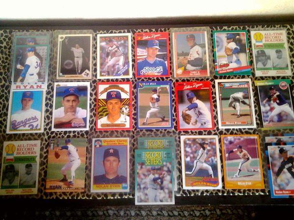 24 Nolan Ryan Baseball Cards For Sale In Las Vegas Nv Offerup