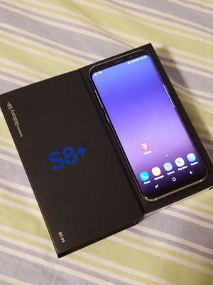Samsung Galaxy S8 PLUS, Factory Unlocked for Sale in Annandale, VA