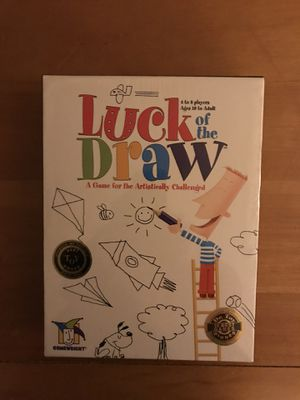 Luck of the Draw Board Game for Sale in Glenelg, MD