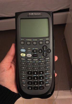 TI-89 Titanium graphing calculator for Sale in Boston, MA