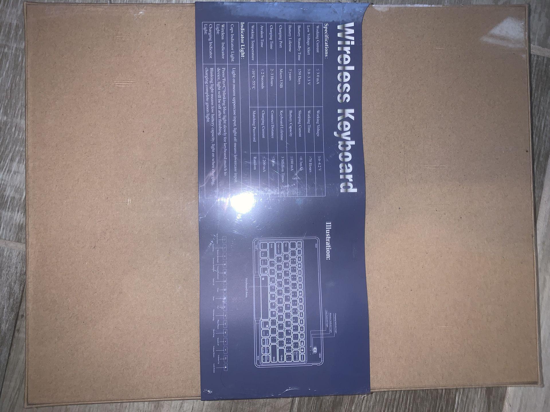 IVSO Wireless Keyboard For iPad
