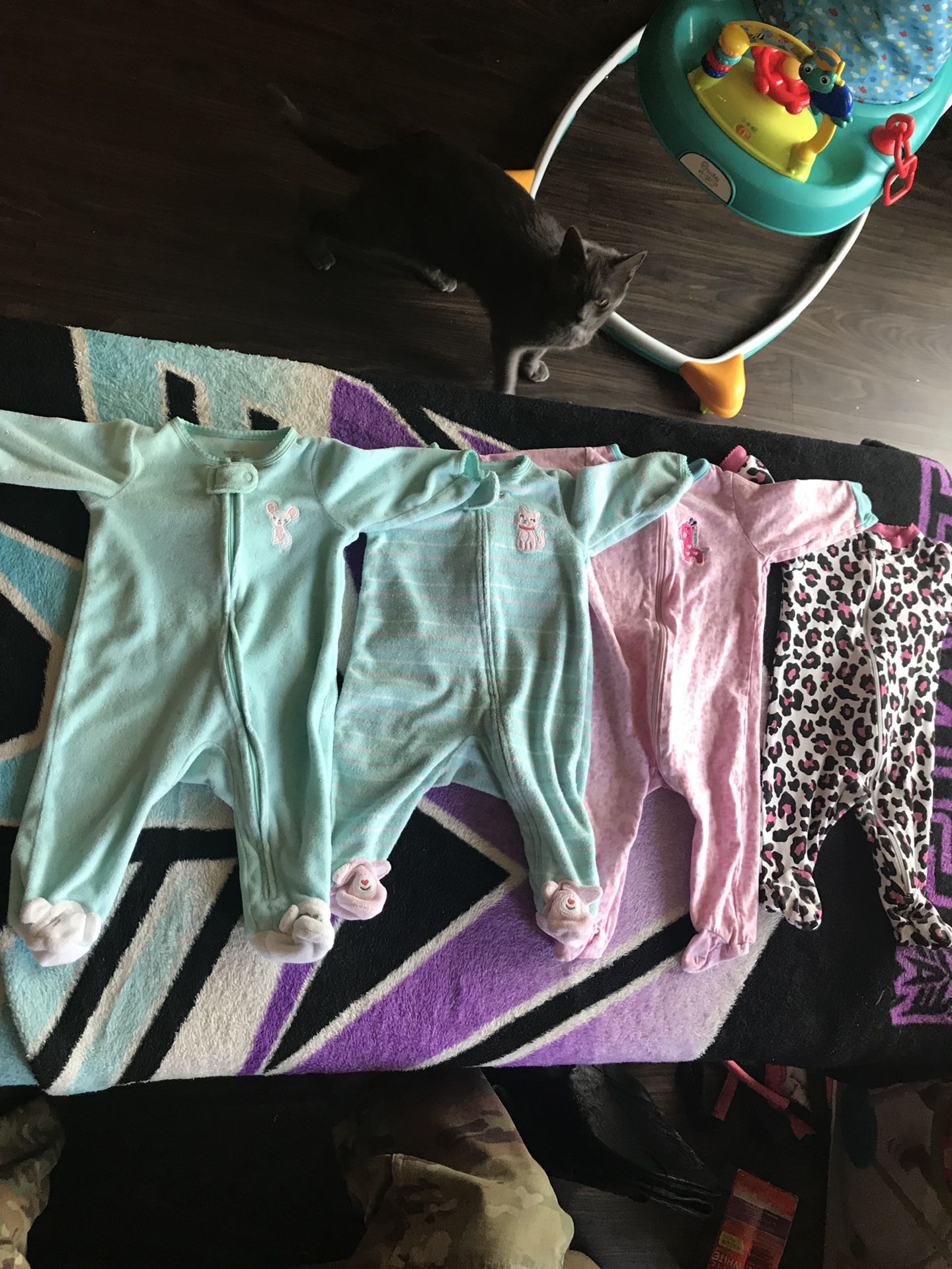 0-3 months baby clothes ;