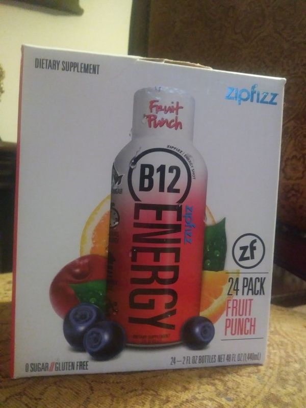 Zip fizz b12 energy shots 24 pack for Sale in Puyallup, WA - OfferUp