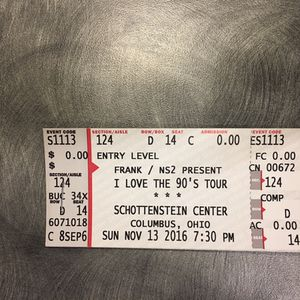 I love the 90's Concert $25 for Sale in Columbus, OH