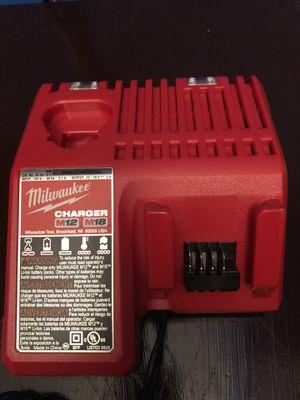 Milwaukee charger and battery 18v for Sale in Annandale, VA