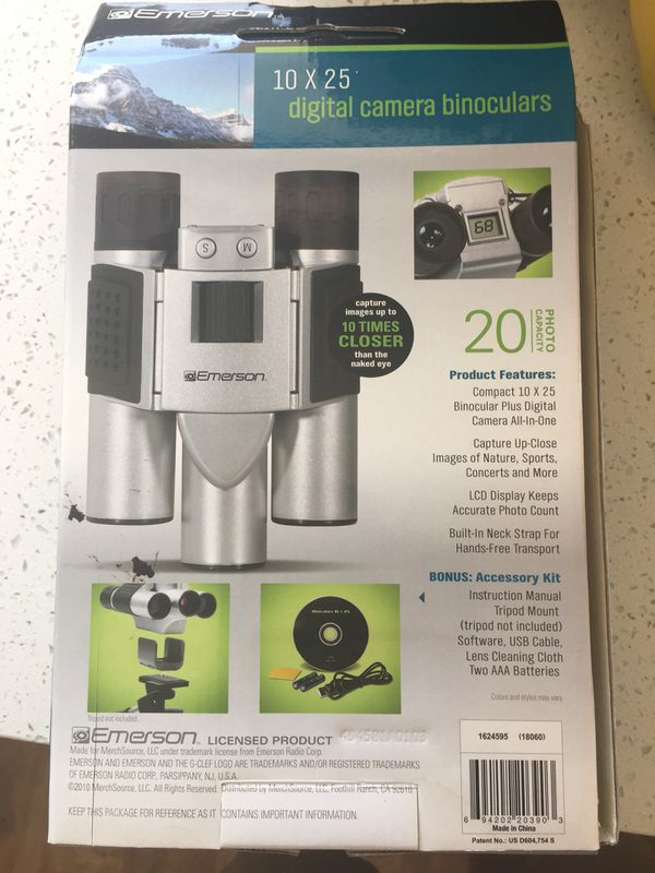User manual vivitar 12x25 digital camera binocular viv-cv-1225v.