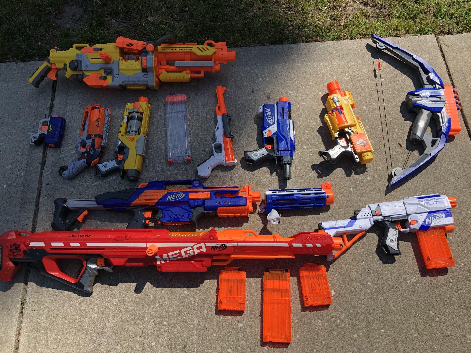 Sleep safe tonight - nerf gun assortment