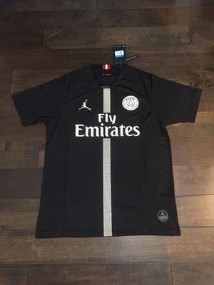 NEW PSG Jordan edition Jersey black size Medium for Sale in Fairfax, VA