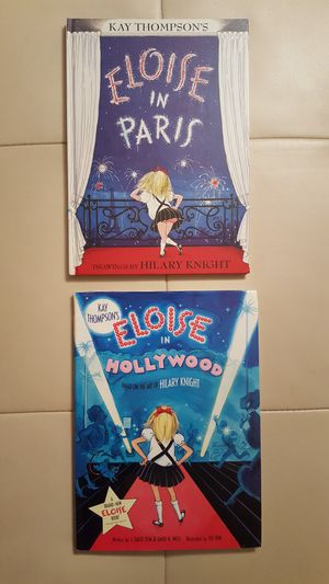 2 ELOISE Books: ELOISE IN PARIS & HOLLYWOOD for Sale in San Diego, CA