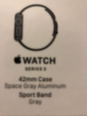 Empty box Apple Watch series 3 42 mm no Watch for Sale in Hollywood, FL