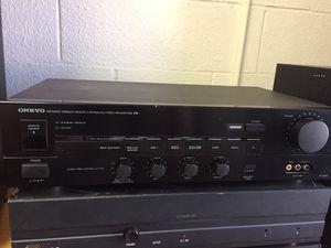 Onkyo p3200 pre-amplifier for Sale in Houston, TX