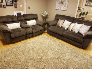 Brown Sofa Recliner for Sale in Alexandria, VA