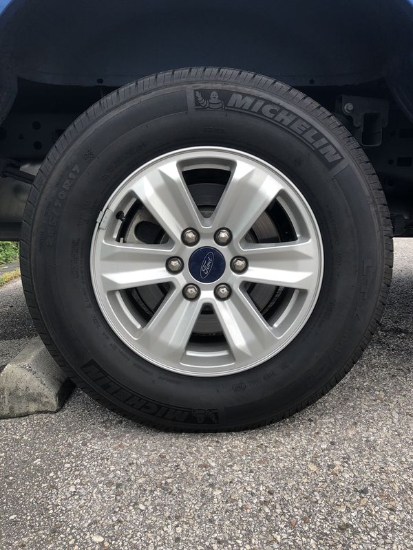 2017 Ford F150 Xl Package Rims Wred In Michelin Tires For Seffner Fl Offerup
