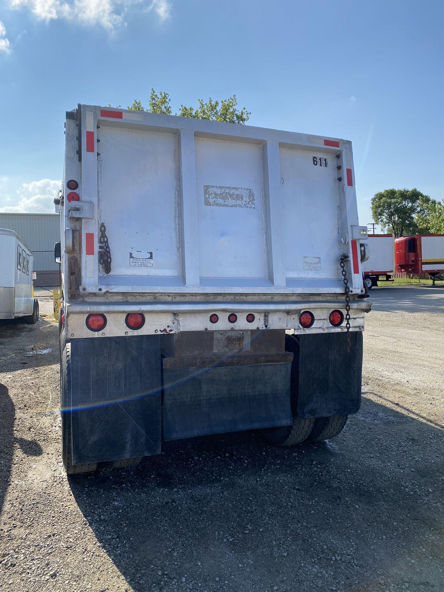 Aluminum Dump Trailer!