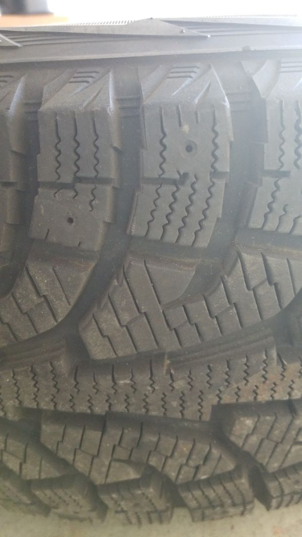 275 65r18 Studless Snow Tires On Wheels For Sale In