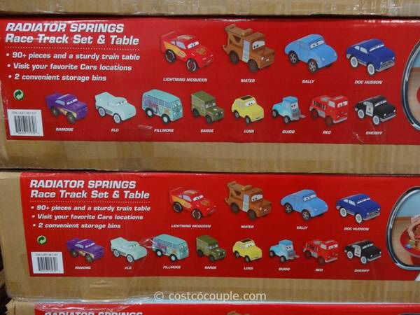Kidkraft Disney Cars Radiator Springs Race Track Set And Table In Euc Toys Vancouver Wa Offerup