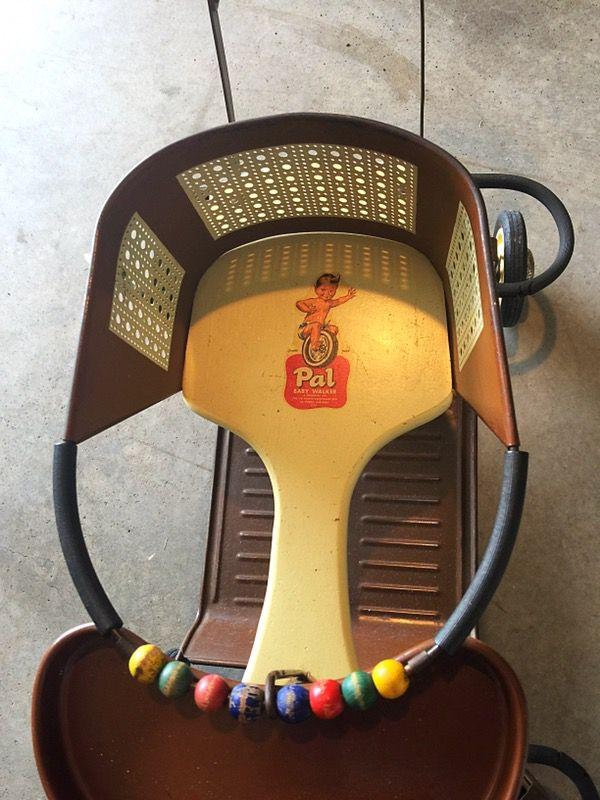Antique Firestone Pal walker 1940's