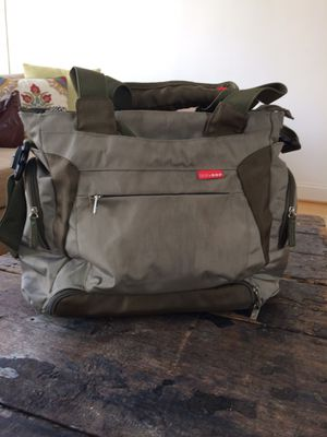 Diaper bag + baby food bag and 3 containers for Sale in Arlington, VA