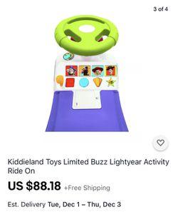 Buzz Lightyear Toddler Ride On Thumbnail