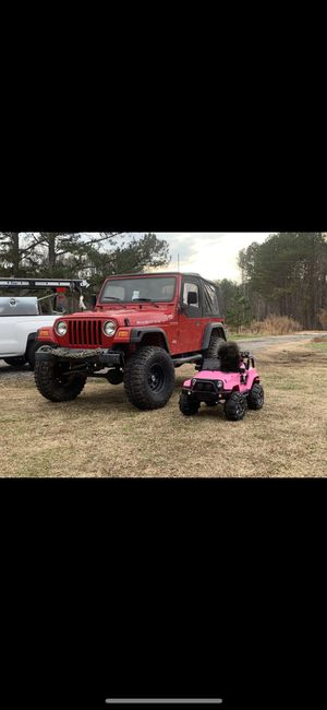 2000 wrangler tj five speed trade for Sale in Apex, NC