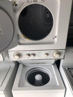 Whirpool Electric Laundry Center 220v Thumbnail