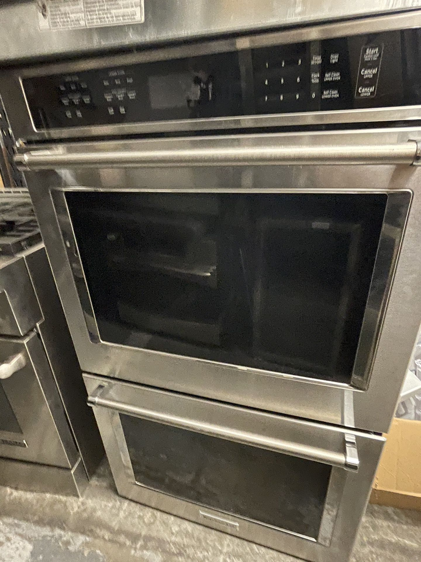 """30"""" KITCHENAID DOUBLE OVEN ELECTRIC STAINLESS STEEL"""