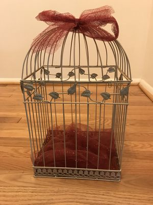 Birdcage for decoration for Sale in Springfield, VA